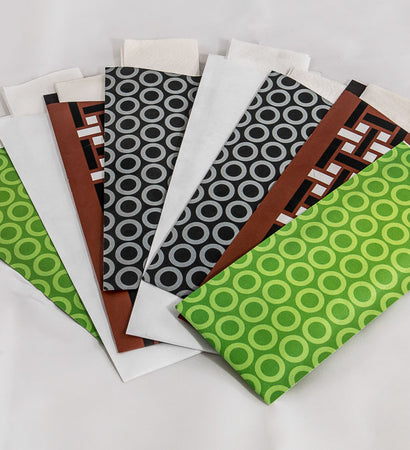 Pochetta - 3ply Green Circle