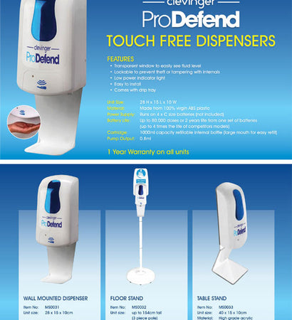 ProDefend Touch Free Dispenser