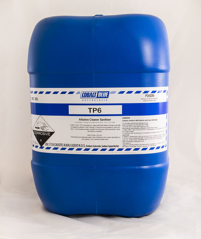 TP6 - Alkaline Cleaner Sanitiser