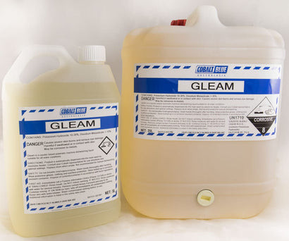 GLEAM - Alkaline low foaming detergent for automatic dish washing machines