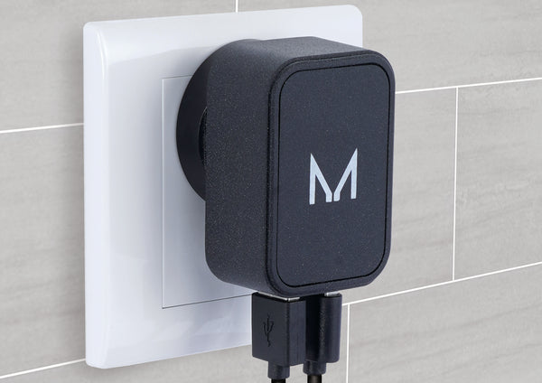 watt Dual 3.1A Wall Charger | Textured Stone