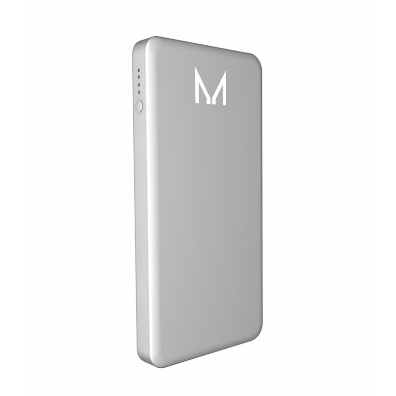 lumo 10000mAh power bank</br>coin silver - MOYORK CO