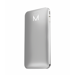lumo 5000mAh power bank</br>coin silver - MOYORK CO