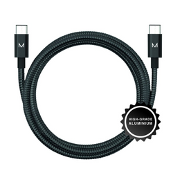 lumo usb-c charge & sync cable</br>raven black - MOYORK CO