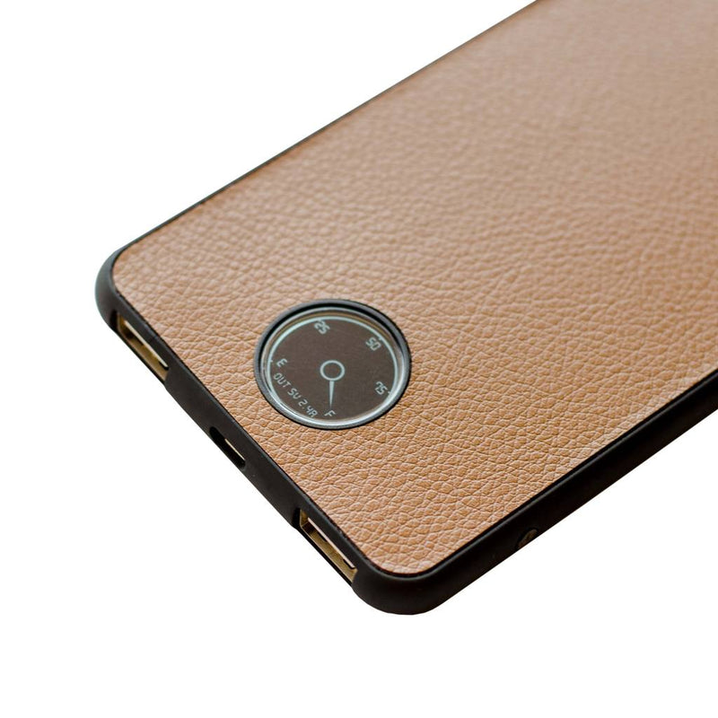 watt | 6000mAh power bank</br>sudan brown | raven black - MOYORK CO