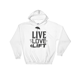 Hooded Sweatshirt Live Love Lift