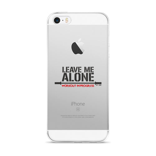 iPhone 5/5s/Se, 6/6s, 6/6s Plus Case  Leave Me Alone