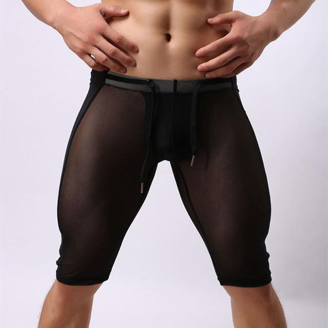 Transparent Knee-Length Trunks - Men Monster [product_variant]