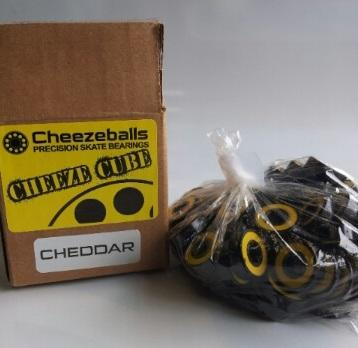 Cheezeballs Cube Cheddars Abec 7 8mm Bearings 100 Pack