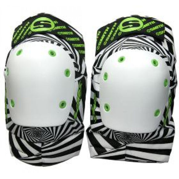 Smith Scabs Knee Pad Hypno Psycho Black and White