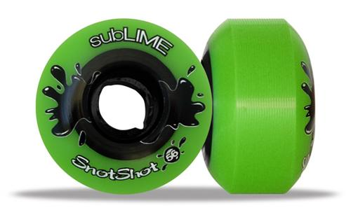 ABEC 11 Wheels Sublime Snotshot 56mm 99a Green 4 Pack
