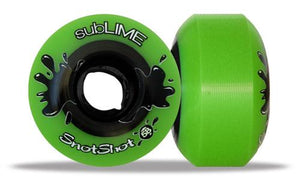ABEC 11 Wheels Sublime Snotshot 58mm 99a Green 4 Pack