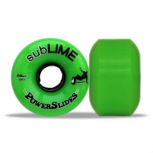 ABEC 11 Wheels Sublime Powerslides 60mm 100a Green 4 Pack