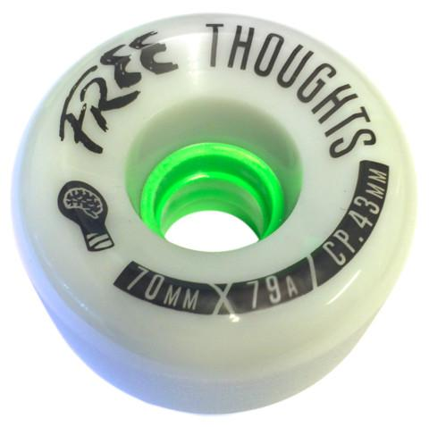 OMEN Wheels Free Thoughts 70mm 79a Grey 4 Pack
