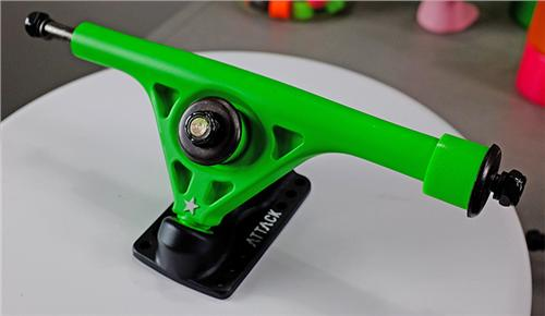 ABEC 11 Blackstar Truck 180mm 45/45 Green Pair