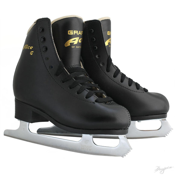 Graf Ace Original Figure Skate Black