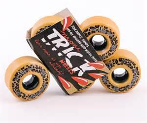 Riedell Moxi Trick Wheels 55mm 97a Leopard 4 Pack