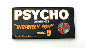Psycho Bearings Abec 5 8Pack