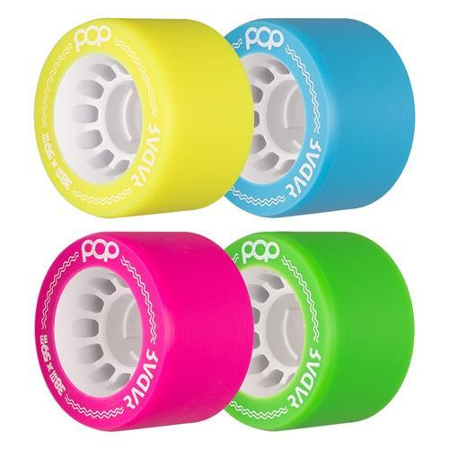 Radar Pop Wheels 59mm 4 Pack