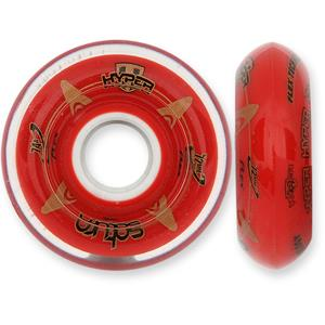 Hyper Wheels Saturn 74a Red - Each