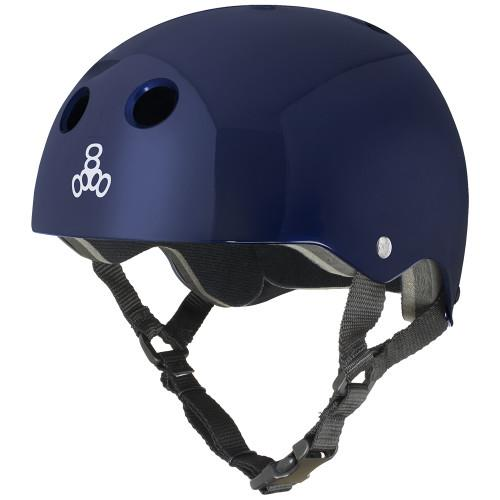 Triple 8 Halo Water Helmet SS Blue Metallic