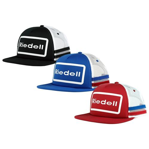ON SALE Was $25.95 Now $22.00 Riedell Trucker Hat Blue and White