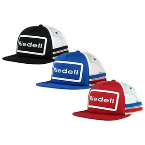 Riedell Trucker Hat Red and White
