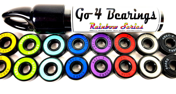 Rainbow Series Abec 5/16pk - (Your Own Store Name) Minimum Order QTY 12