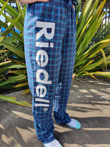 Riedell Pyjama Pants Blue and Green