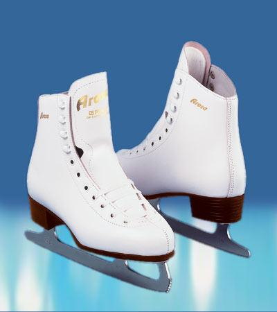 Graf Arosa Figure Skate White
