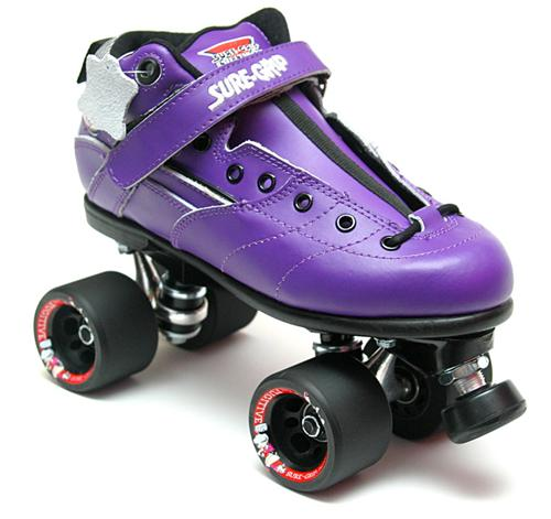 Suregrip Rebel Roller Skates Purple
