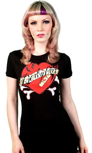 Sourpuss Bruised Heart T-Shirt XL