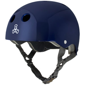 Triple 8 Skate Helmet SS Blue Metallic