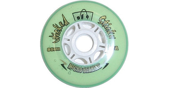 Kryptonics Wheels Wicked Sticky Micro 72a Green each