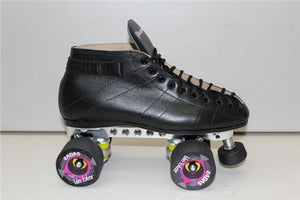 Riedell 595 Derby Skate w Reactor Plate and Tile Biter Wheels