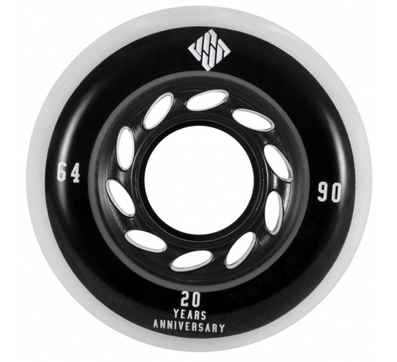 USD Team Wheel 64mm 90a 4 Pack