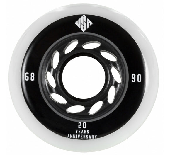 USD Team Wheels 68mm 90a 4 Pack