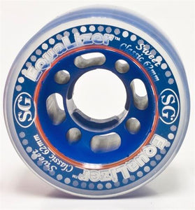 Suregrip Equalizer Wheels 62mm 85a Clear Blue 4 Pack