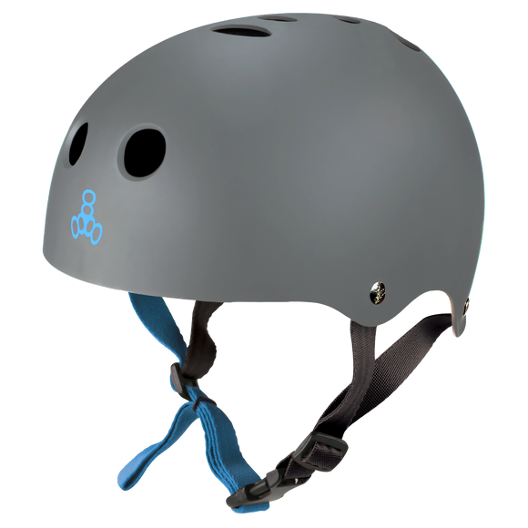 Triple 8 Halo Water Helmet Carbon Rubber