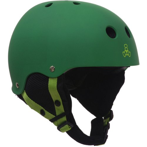 Triple 8 O'School Audio Snow Helmet Kelly Green