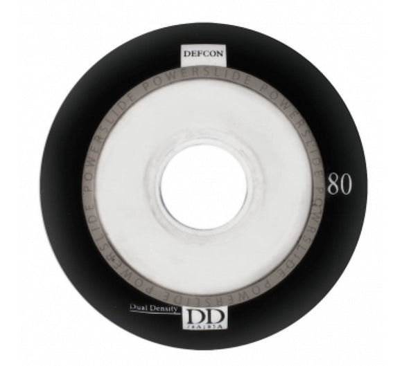 Powerslide Defcon Wheels Black 4 Pack