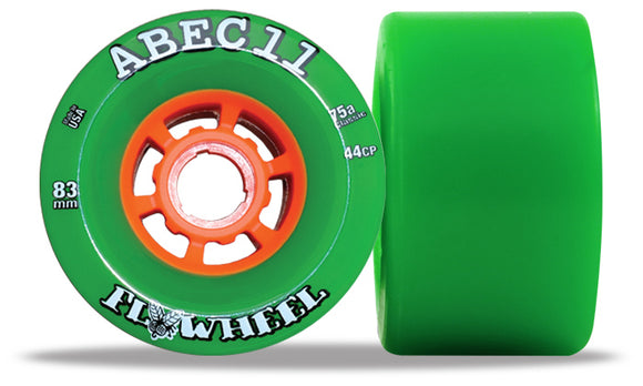ABEC 11 Flywheel 83mm Green 4 Pack