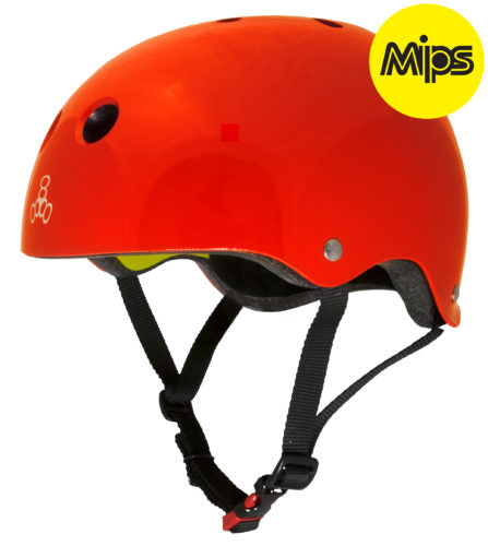 Triple 8 Skate II/ Derby MIPS Helmet SS Red Gloss