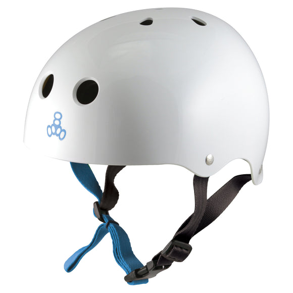 Triple 8 Halo Water Helmet White Gloss