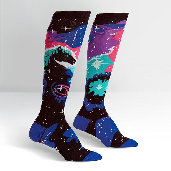 Sock it to me Horsehead Nebula Knee High Socks