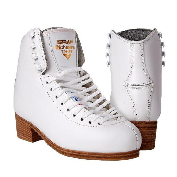 Graf Richmond Figure Skate White