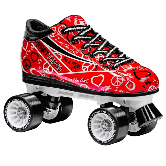 RDS Pacer Heart Throb Red Roller Skates