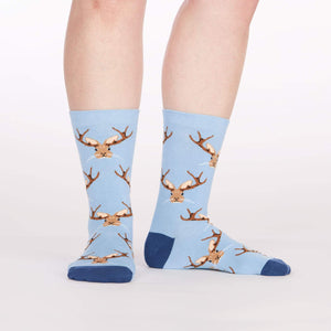 Sock it to Me Jackalope Womens Crew Socks