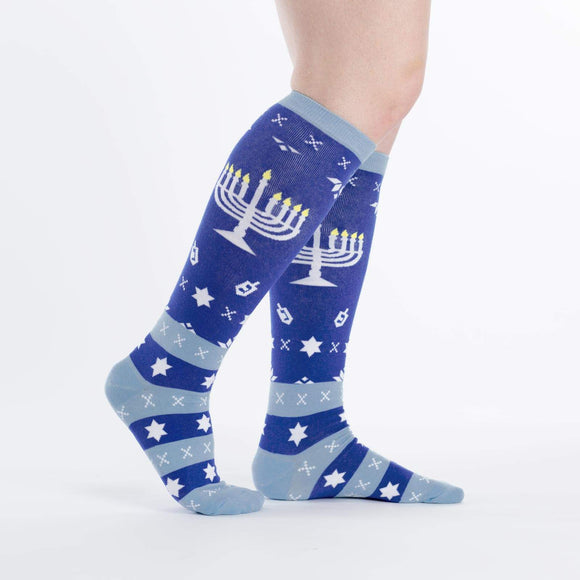 Sock it to Me Mazel Tov Knee High Socks