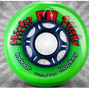 Kryptonics Wheels Mister Sticky 74a Pumkin or Green - Each